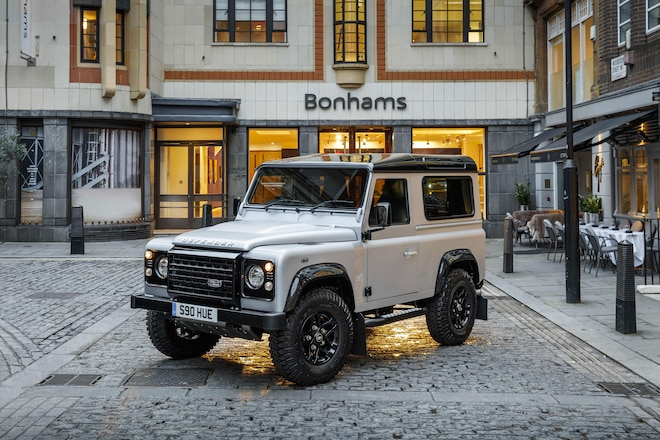Land Rover Defender 2,000,000 To Be Auctioned For Charity