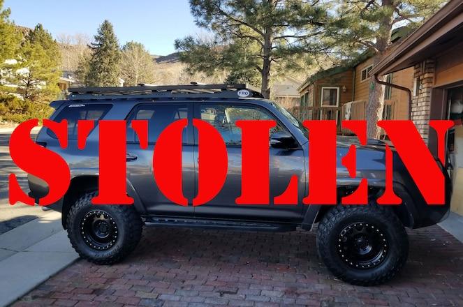 STOLEN 4x4 Adventure Rental In Colorado