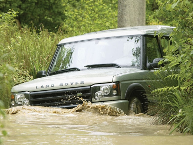 2003 Land Rover Discovery Review - First Drive