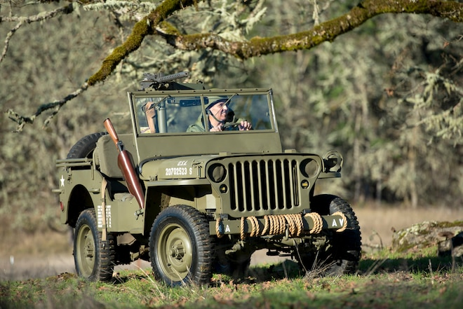1945 Willys-Overland MB With Firepower