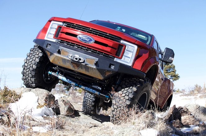 BA-350: A One-ton Diesel with Raptor DNA