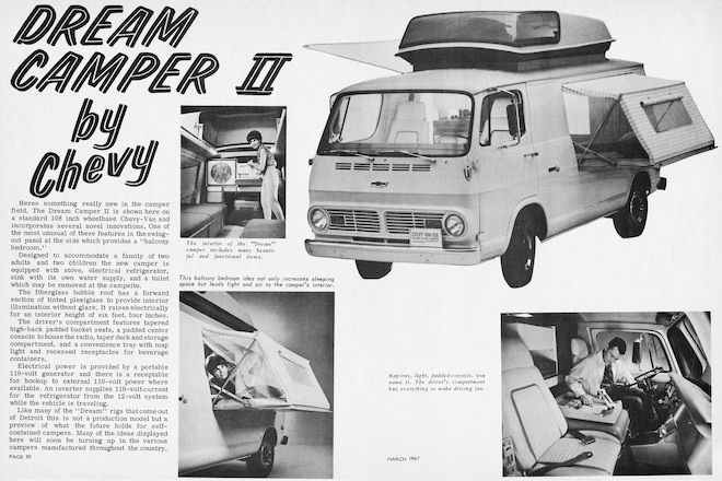 Trail's End: A Look Back to March 1967—From Camper Vans to Overland