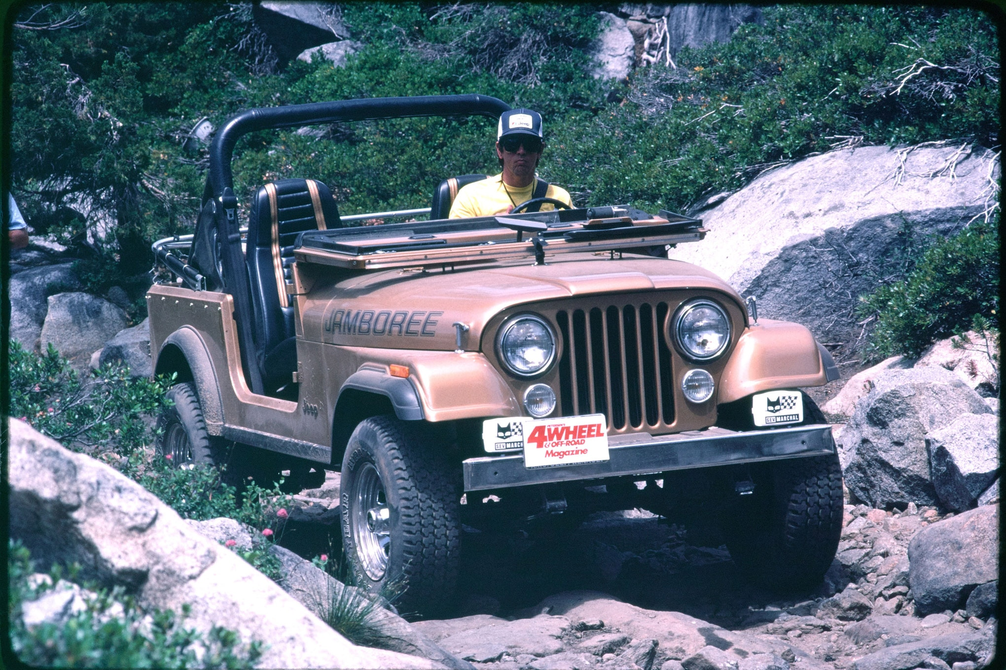 010 1982 cj7 jamboree 4wor trail vintage shot