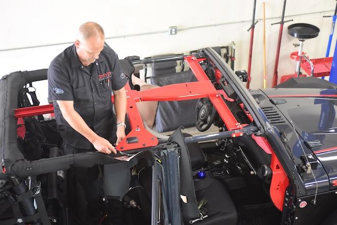 Bolt-In EVO Jeep JK Chromoly Cage Kit