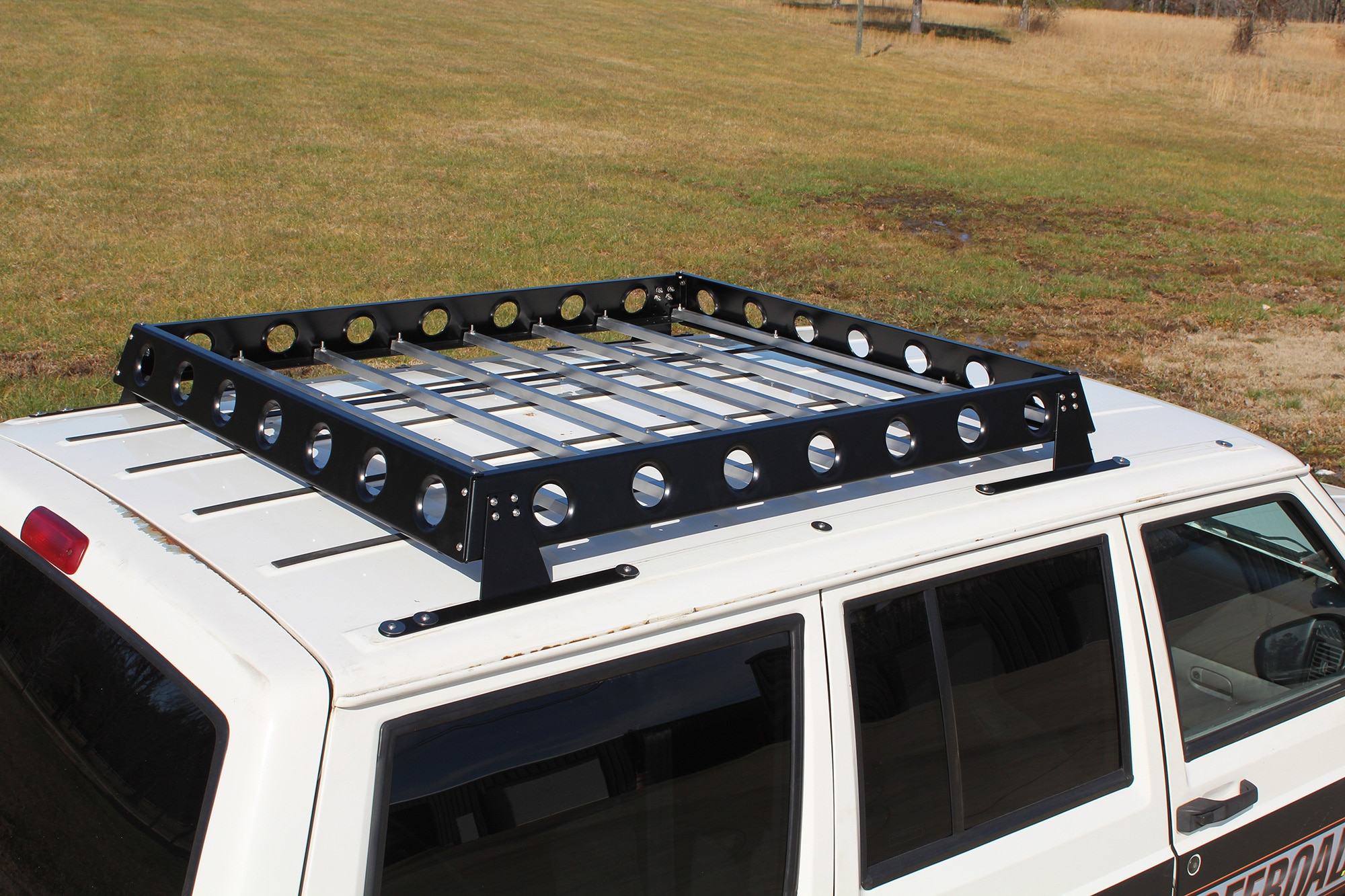007 new products rustys off road roof rack jeep xj zj grand cherokee