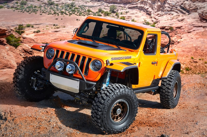 Jeep and Mopar Brands Unveil Seven Concept Vehicles for 52nd Annual Moab Easter Jeep Safari
