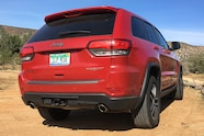 003 2017 grand cherokee trailhawk four wheeler of the year rear tailgate badge
