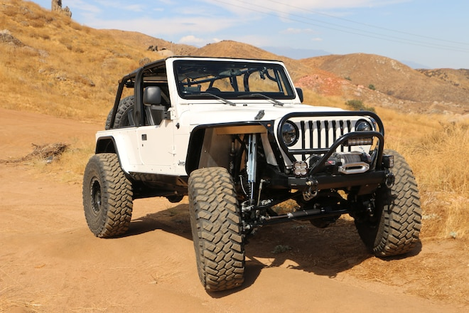 Tricked-Out 2005 Jeep Wrangler LJ Drives Like a Buggy