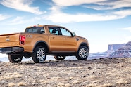 auto news four wheeler 2019 ford ranger rear