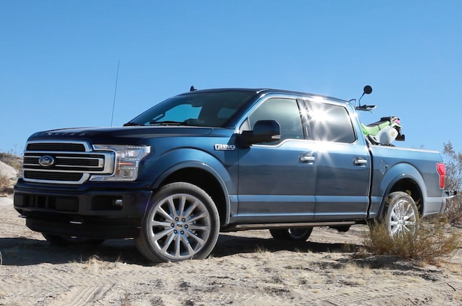 The 2018 Ford F-150 Limited We Wheeled to King of the Hammers