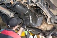021 replacement installing oil pan
