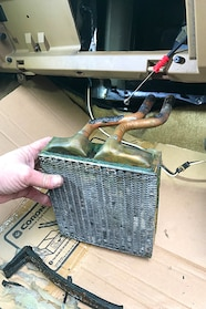 001 ford heater core lead