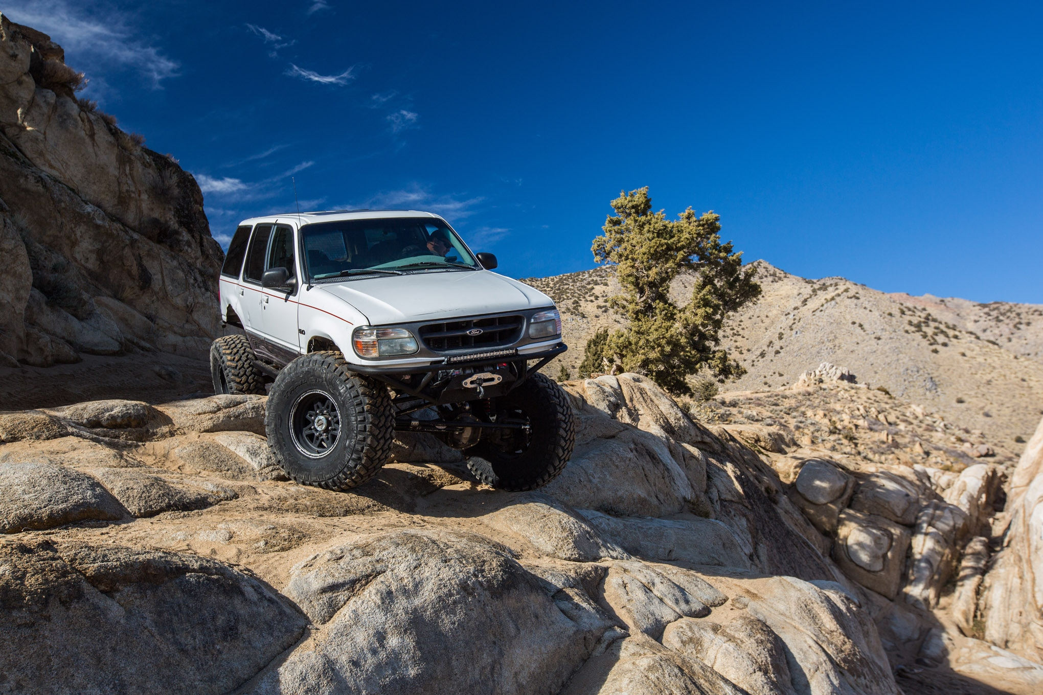 Backcountry roaming in a 2016 Ford Explorer Platinum