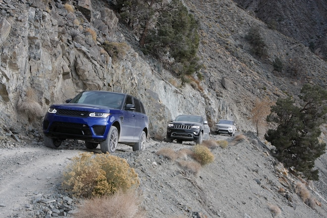 2016 Four Wheeler of the Year Winner: 2016 Range Rover SVR