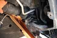 03 half dayin it  duramax lbz lower radiator hose