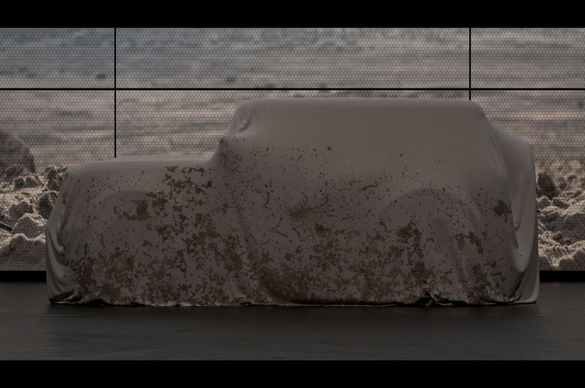 2020 ford bronco teaser side profile