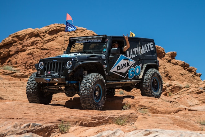 Dana is the Official Crate Axle of Ultimate Adventure 2018 #UA2018