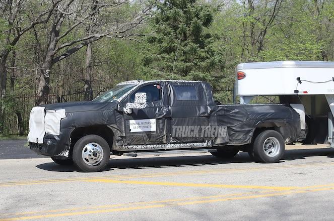 SPIED: 2020 Chevrolet Silverado 3500HD Towing and Interior Photos
