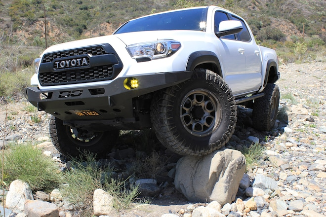Lights, Armor, Action! Potent Lighting and Beefy Armor for a 2017 Tacoma