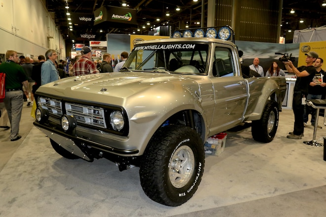 Top SEMA Trucks (And A Couple Of Cool Cars!)