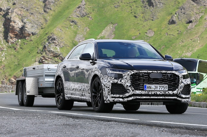 SPIED: 2020 Audi RS Q8 Testing In Europe