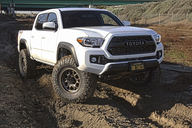 Trail-Ready Tacoma: Creating Clearance For Our '17 Tacoma's New Wheels and Tires