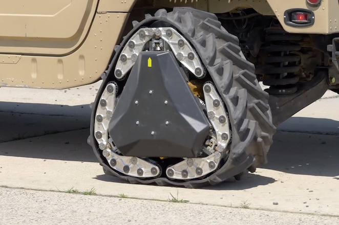 DARPA Builds a Shape-Shifting Wheel that Doubles as a Tank Track