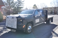 2020 gmc sierra 3500hd chassis cab front quarter 02