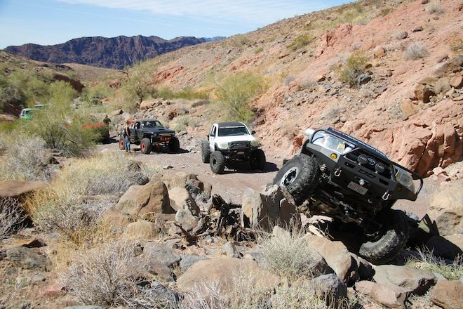 Toyota Trail Action in Parker