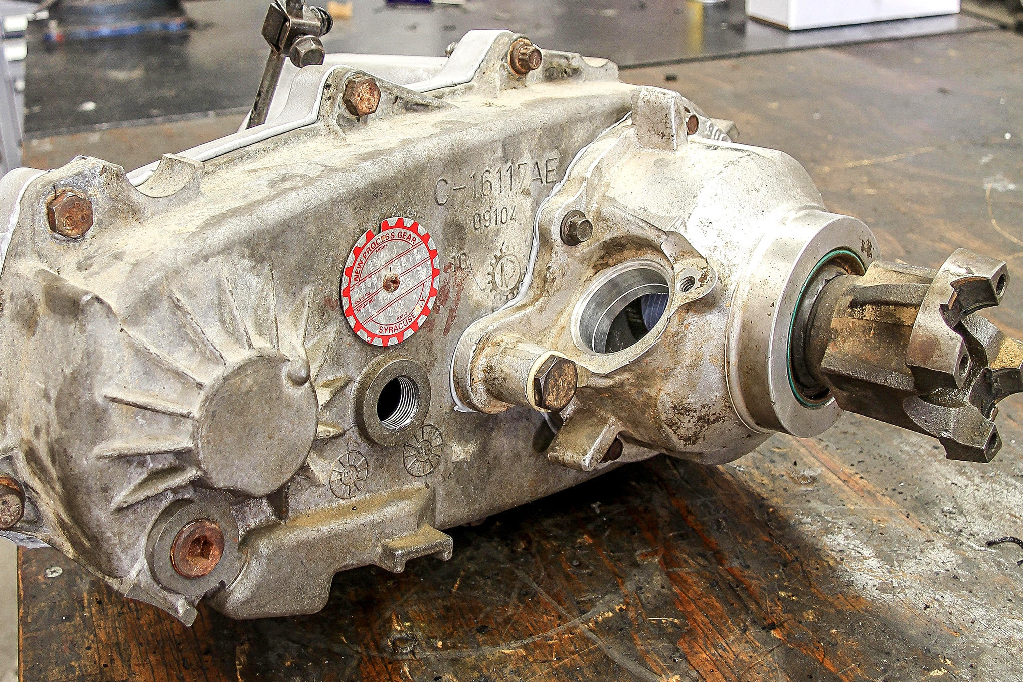 transfer case 101 id