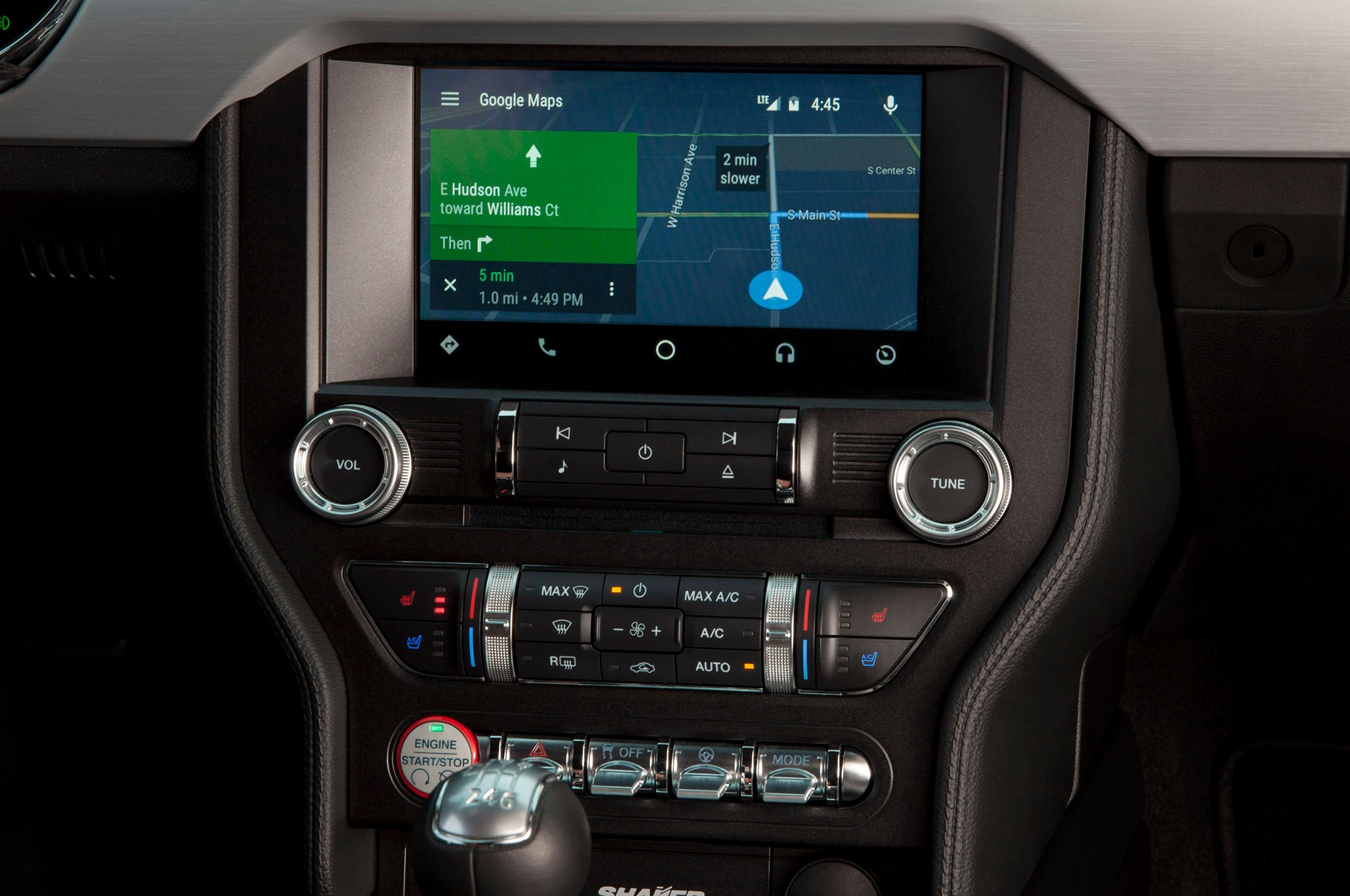 Ford Sync 3 Android Auto navigation