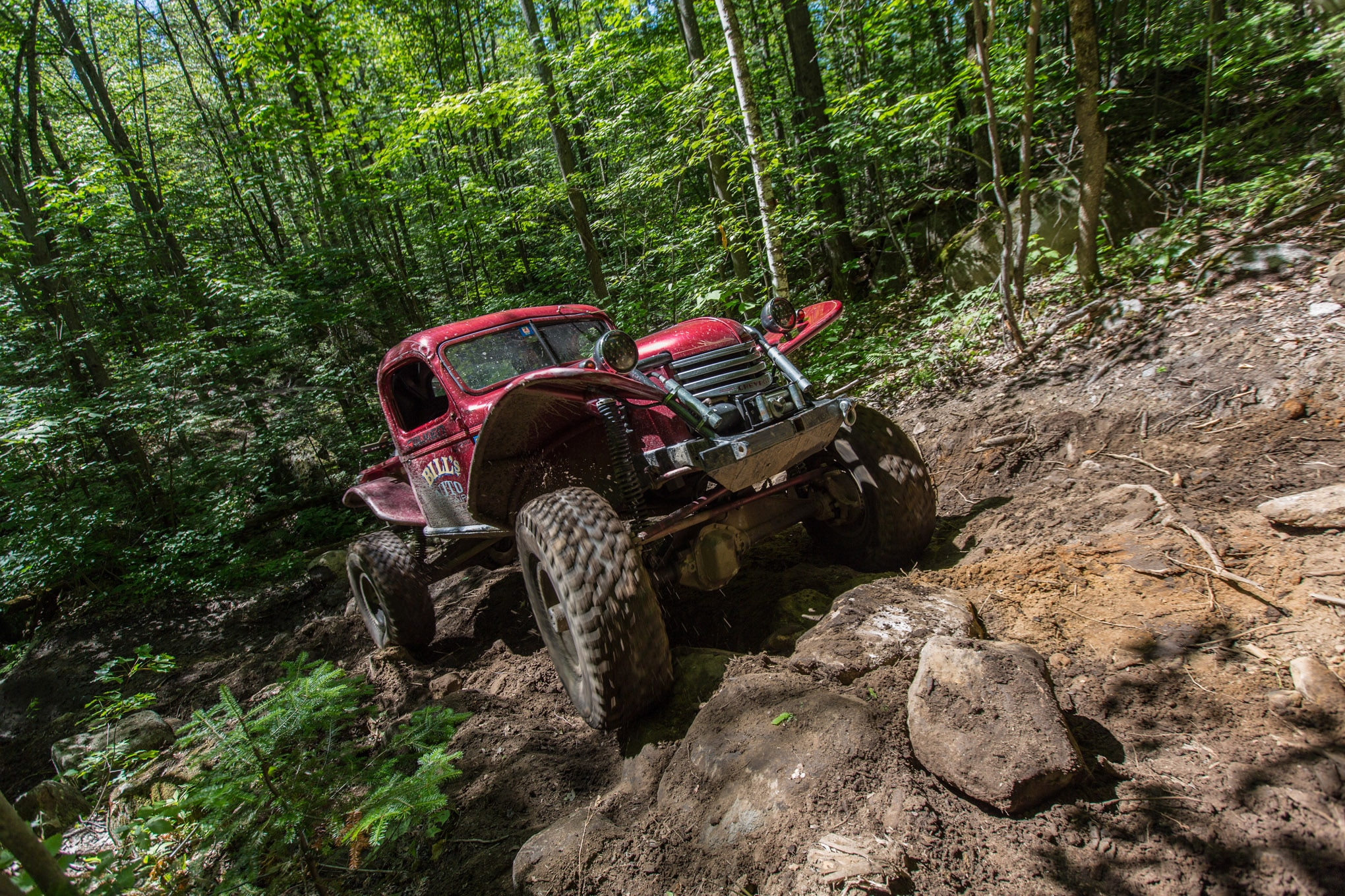 UA 2015 alumnus Bill Costa tipped us off to Jericho Mountain State Park. He and other members of North Woods Off Road have worked to build and maintain trails on the only public land open to wheeling in the Northeast.