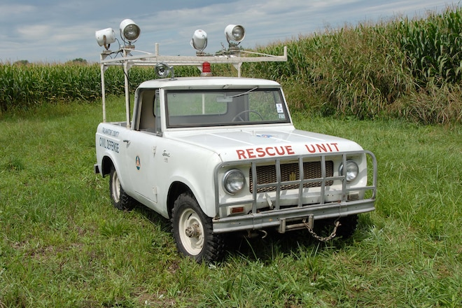 1963 Scout 80 Cab-Top - Scouting Civil Defense