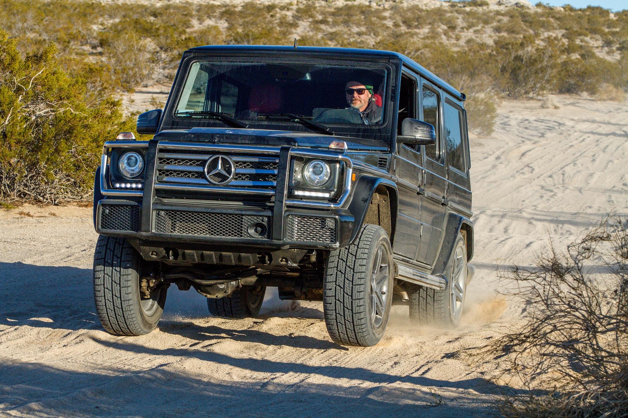 13 2016 Mercedes G 550 Trail