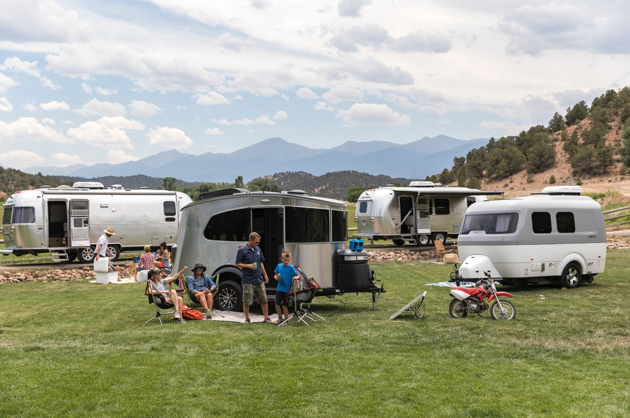 airstream basecamp x with other trailers