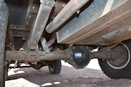 The Blazer's original 12-bolt rear axle still pushes the