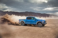 2019 ford f 150 raptor supercrew exterior front quarter 08