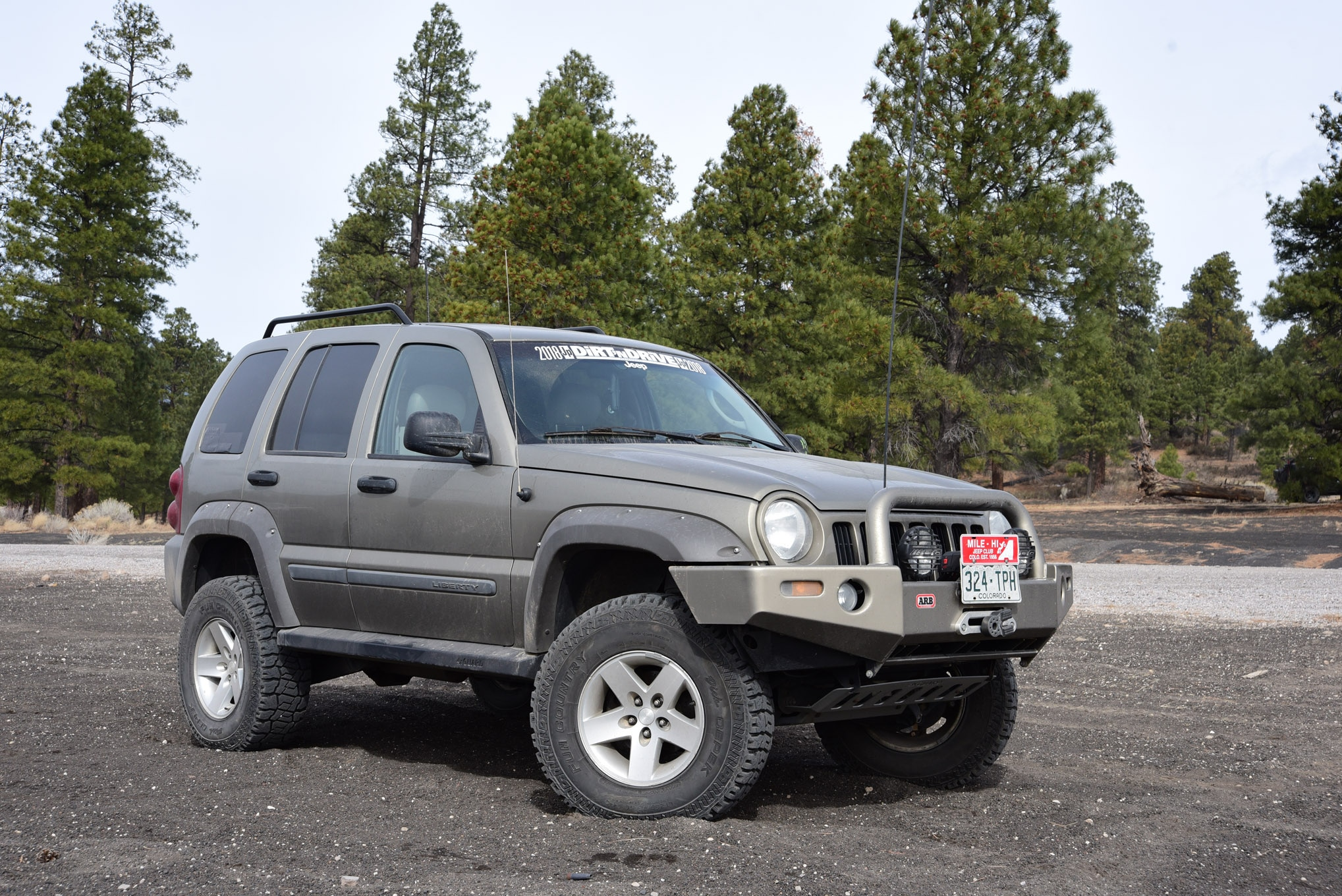 2006 Jeep KJ Liberty CRD: The 400 Pound-Foot Diesel Jeep