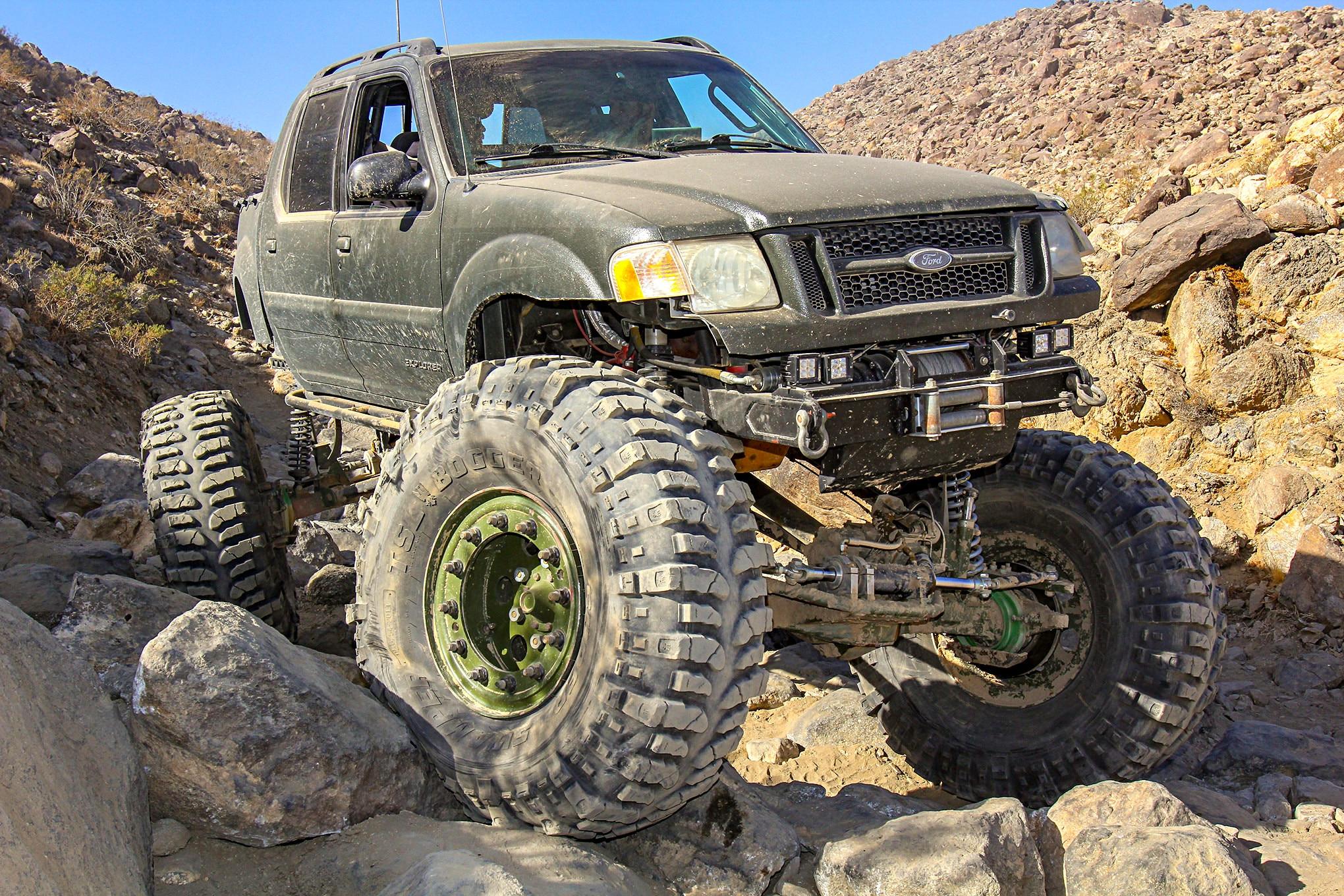 ted shinn 2001 ford explorer lead