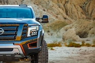 Nissan Titan Warrior concept front end detail