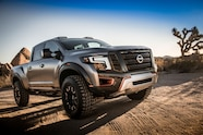 Nissan Titan Warrior concept front three quarter 05
