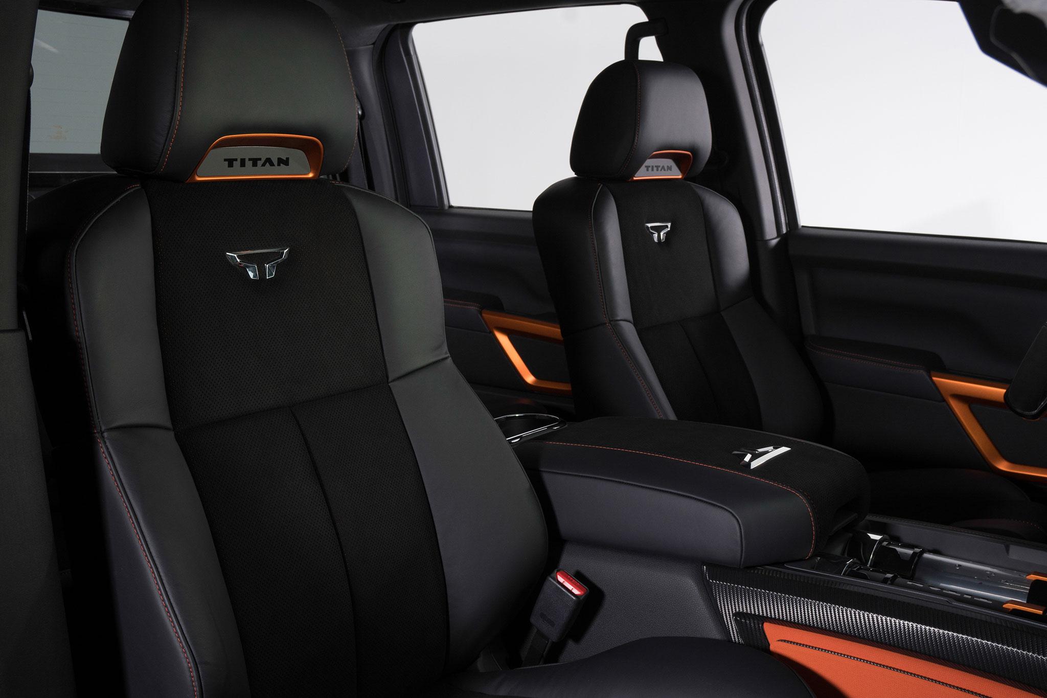 Nissan Titan Warrior concept seats