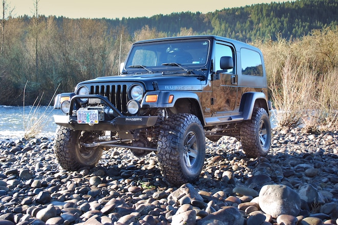 How-To: Jeep TJ Unlimited TeraFlex 4-inch Long-Arm Suspension Installation