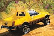 1977 AMC pacer rear