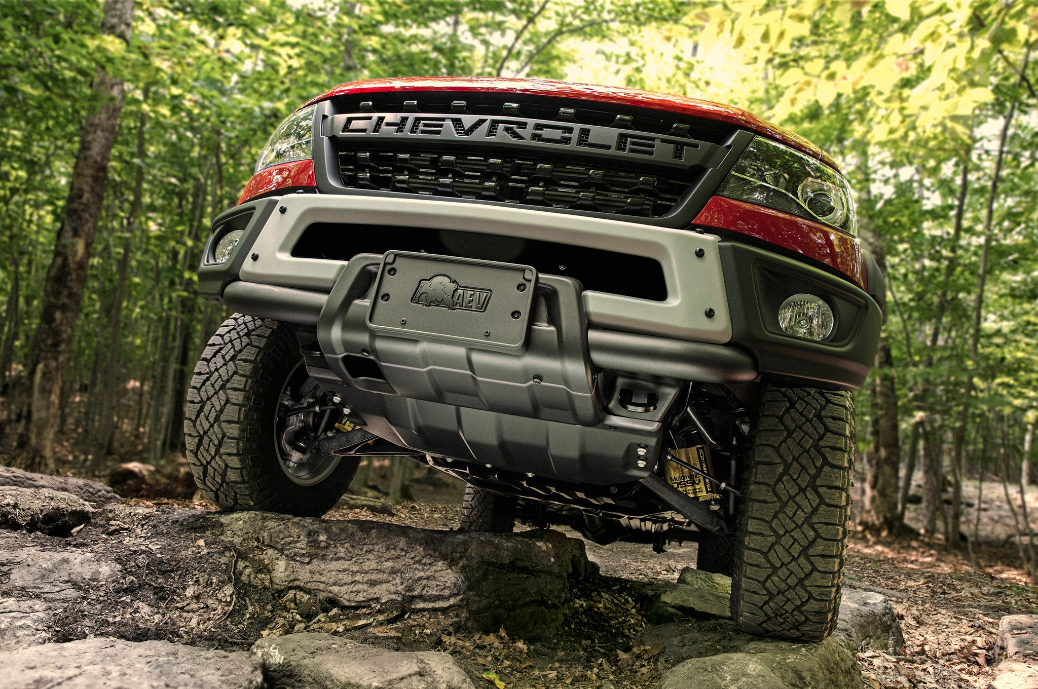 2019 chevrolet colorado zr2 bison front skidplate
