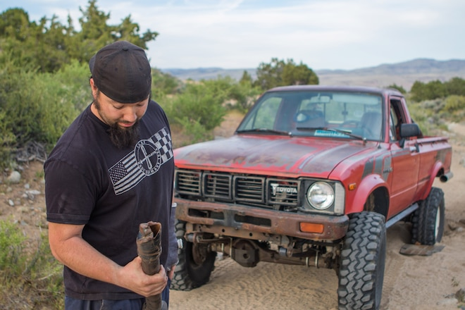 How To Get Unstuck When You Don't Have A Winch.