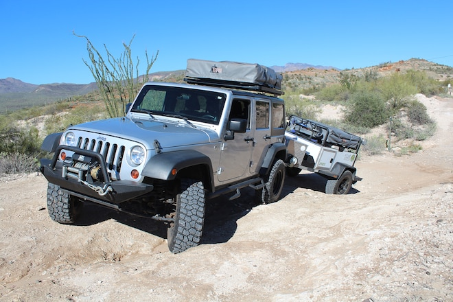 Ultimate Off-Road Camp Trailer