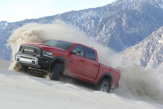 Ram 1500 Rebel Wins FOUR WHEELER's 2016 Pickup Truck of the Year Award