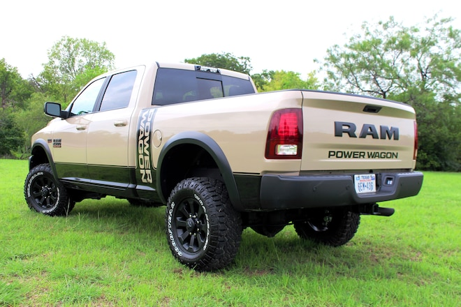 RAM Launches Limited-Edition Mojave Sand Power Wagon