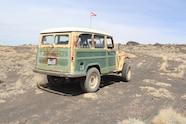 willys wagon tj rear axle